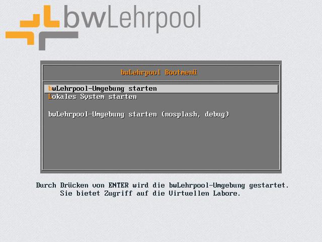 satellite:pxe_bootmenu - bwLehrpool
